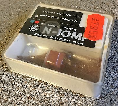 NAGAOKA N-MP10 NMP10 Replacement Stylus Used But Boxed
