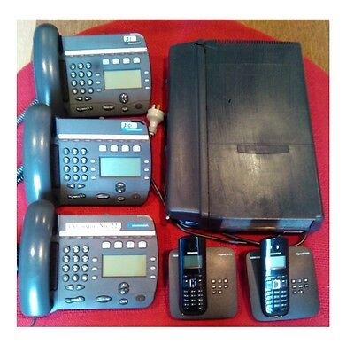 Commander vision phone system plus 5 Handsets
