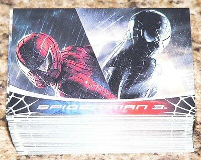 Spider Man 3 by Rittenhouse in 2007. Complete 70 card +8 BTS cards + Checklist