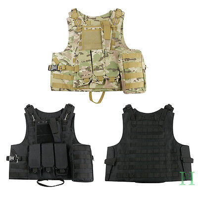 Hot Tactical Military Vest Army Paintball Airsoft Combat Assault Vest Adjustable