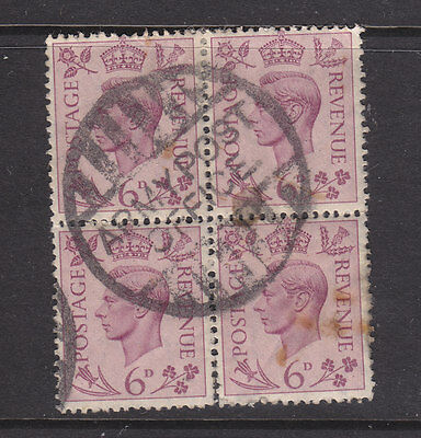 Great Britain: Nice Army Post Office Cancel. On Block Of 4.