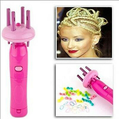 Automatic Machine Hemp Flowers Hair Braider Twist Braid x-press Maker Tool