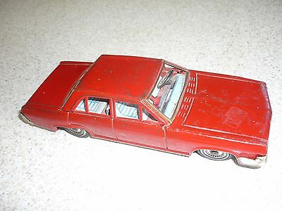 Vintage Tin Toy Car OPEL ADMIRAL Made in Japan