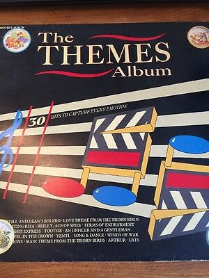 The Themes Album 30 Hits To Captue Every Emotion Vinyl Lp