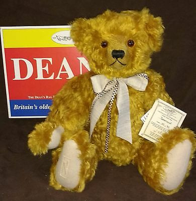 DEAN'S MOHAIR TEDDY BEAR - DESMOND - L/E 20 of 90 - 1997 - NEW IN BOX WITH TAGS