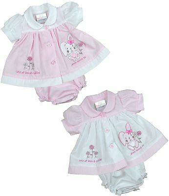 BabyPrem Premature Preemie Tiny Baby Clothes Girls Dresses Bunny Dress 3-8lb