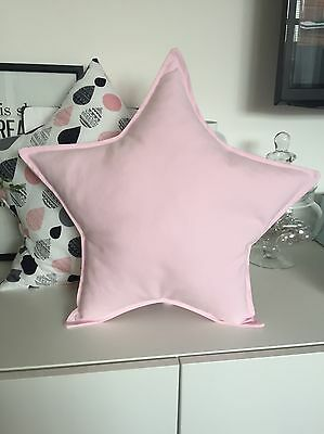 star shaped cushion pillow decoratpive nursery kids bedroom 100%cotton