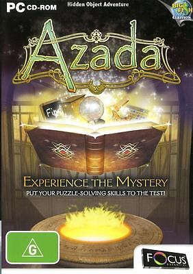 Azada Experience the Mystery PC Game Hidden Object Adventure Puzzle Solve Magic