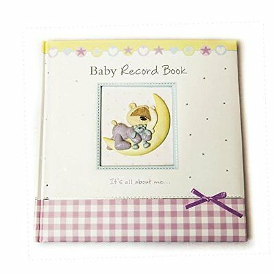 Baby Record Diary Baby Memory Journal Book With Ribbon Keepsake Gift