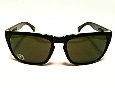 Electric Knoxville Gloss Black Polarised Sunglasses.