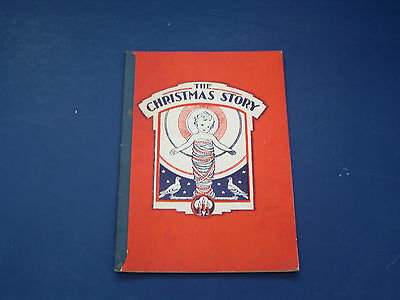 vintage 1934 softcover book The Christmas Story illustrated by Marion Matchitt