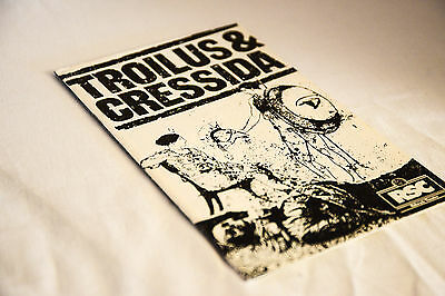 Nice vintage RSC Aldwych Theatre programme: TROILUS AND CRESSIDA