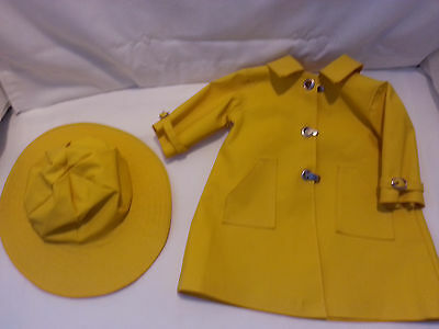 American girl - retired molly slicker rain coat & hat