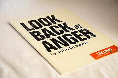 Nice vintage theatre programme:  LOOK BACK IN ANGER Kenneth Brannagh 1989