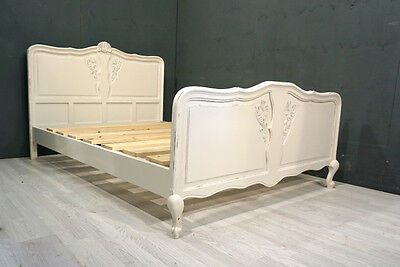 Shabby Chic Double French Bed (BR88)