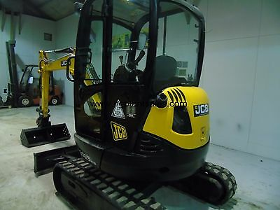 Used JCB 8025 2.65 ton Mini Digger 2011