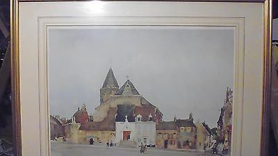 WILLIAM RUSSELL FLINT PENCIL SIGNED LIMITED EDITION PRINT THE WHITE PORCH c1936