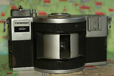 HORIZONT Soviet 35mm Panoramic Camera Collectible KMZ USSR
