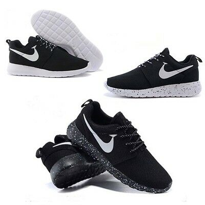 New Mens Womens Lace Up Mesh Run Shoes Sports Running Casual Gym Size Sneakers
