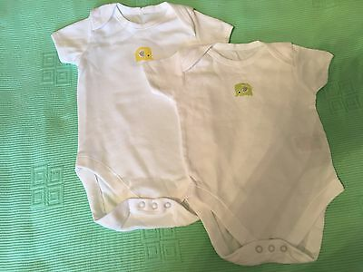 Baby girl/boy short sleeved bodysuits 6-9 months