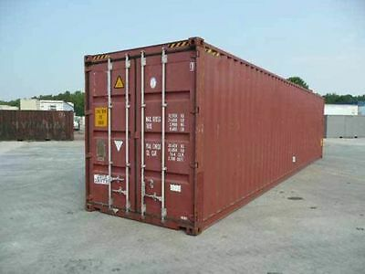 Cargo Worthy 40FT High Cube Shipping Container Ex Sydney