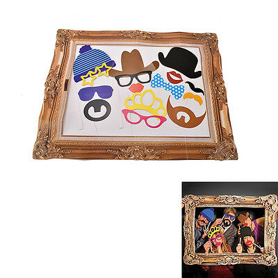 Photo Booth Large Picture Frame & 24PCS photo props Hen Do Party/Stag Night Best