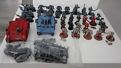 Angeles oscuros ejercito rhino motos dark angels warhammer 40k 40000 pack army