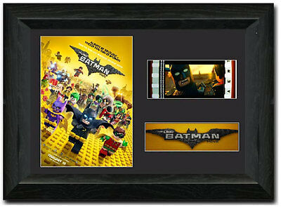 The Lego Batman Movie 35 mm Framed Film Cell Display Stunning Collectible
