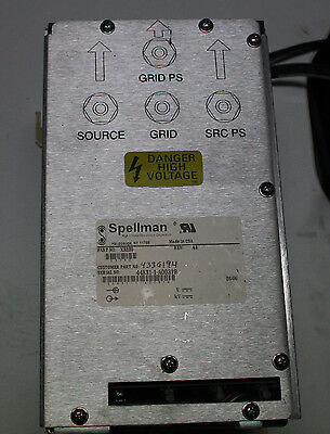Spellman X3230 High Voltage Switch Box / Grd Ps, Source, Grid, Src Ps