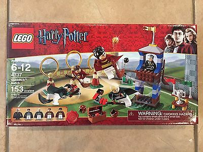 NEW LEGO HARRY POTTER Quidditch Match 4737 Sold Out Rare!  Sealed! MISB