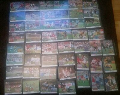 52 X Sierra Leone Maxicards Postcards World Cup Italia 90 stamps COMPLETE SET