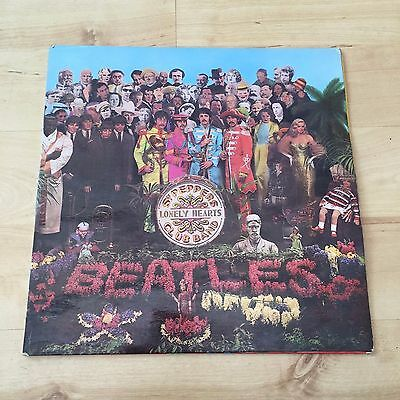 The Beatles - Sgt. Pepper's Lonely Hearts Club Band - PMC 7027 (Vinyl LP) VG/EX+