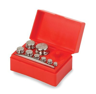 Troemner 8 Piece Stainless Steel Primary Weight Assorted Set