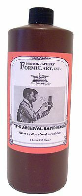 Photographers' Formulary 03-0200 TF-5 Archival Rapid Fixer for Darkroom