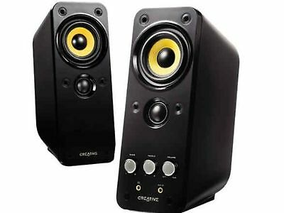 Creative GigaWorks T20 Series II 2.0 Multimedia Speaker System with BasXPort ...