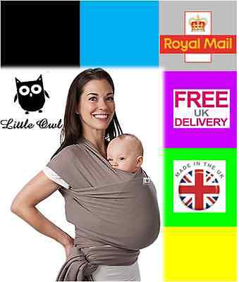 BABY WRAP SLING CARRIER Breathable, Super light and silky soft - MANY COLOURS!!!