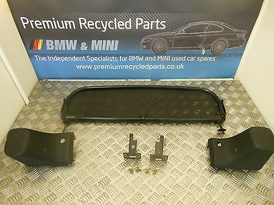 Bmw Z3 E36 Roadster Genuine Wind Deflector With Fitting Kit 82159415972 9415972