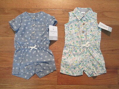 2 piece LOT of Baby Girl Spring/Summer clothes size Newborn NWT
