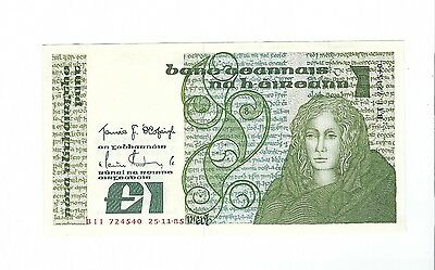 Ireland - One (1) Pound, 1985