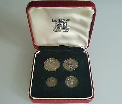 1963  Maundy Set In Royal Mint Box Of Issue Qeii