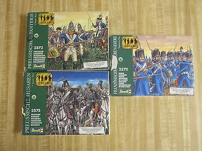 Revell Toy Soldiers 1/72 French Grenadier Guards & Prussian Hussars, Infantry