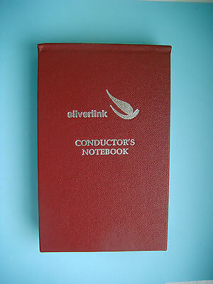 silverlink trains services railway Conductor's Notebook NEW