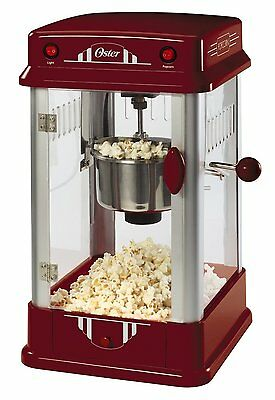 Theater Popcorn Machine Popper Maker Movie Style Red Home Kettle Commercial Pro