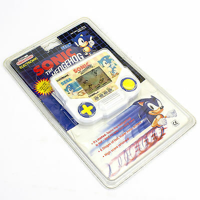 Vintage Electronic Handheld Sonic The Hedgehog LCD Video Game by Tiger, 1991