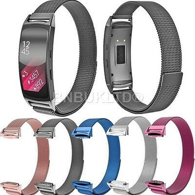 Milanese Stainless Steel Watch Strap For Samsung Gear Fit 2 SM-R360 Watch