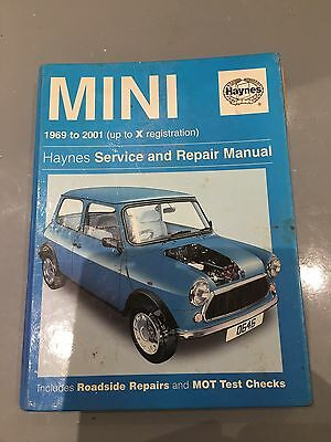 Mini Haynes Manual  FREE POSTAGE