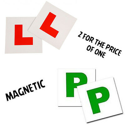 L & P Plate Learning Magnetic Car Plates Exterior New Secure And Safe
