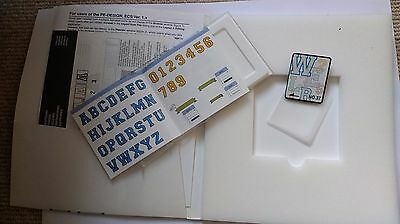 Brother Embroidery Machine Memory Card No.37 APPLIQUE ALPHABET AND NUMBERS