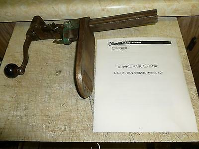 Vintage*Edlund Co.*Commercial Can-Opener*1925*92+ Years Old*Rare*Collectable*Obo