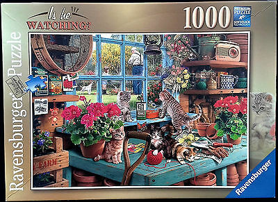 Ravensburger 1000 Piece Jigsaw Puzzle - Is He Watching?
